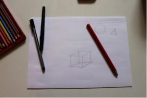 Sketch line drawing