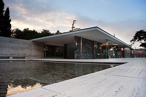 Barcelona Pavilion Mies Van Der Rohe