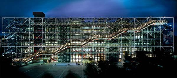 Centre Pompidou_Richard Rogers