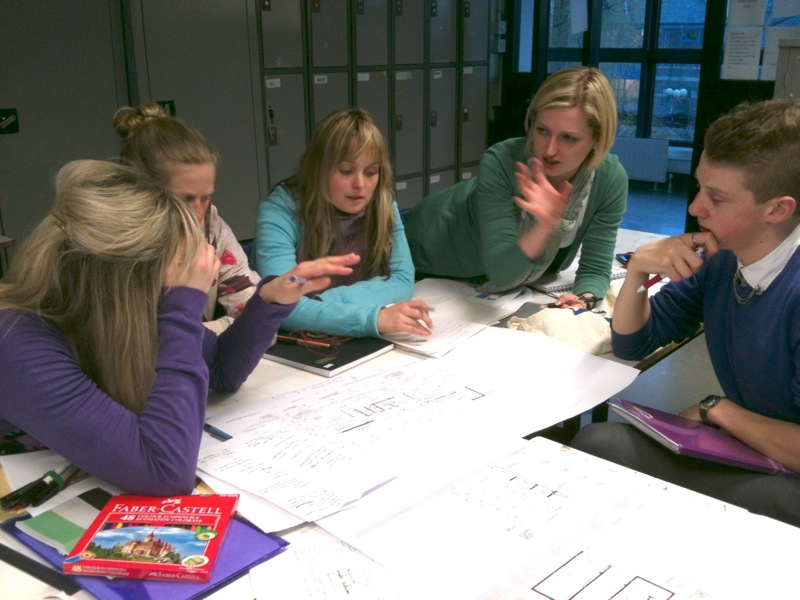 Art teachers attending CPD course at NCAD based on My Architecture Design Journal