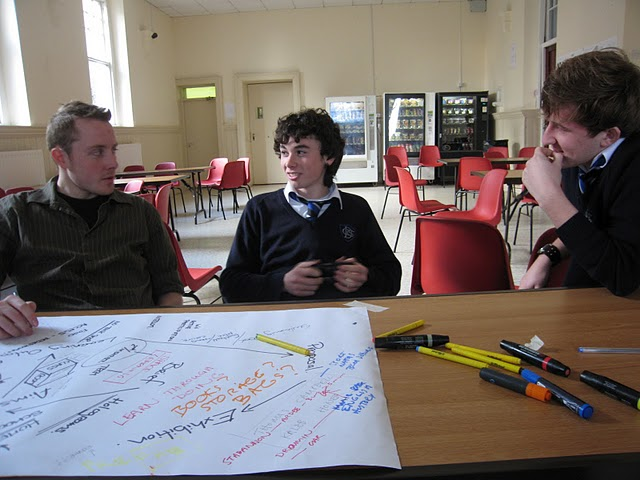 Idea Workshop: Dundalk Grammar TY students and Idir Architecture
