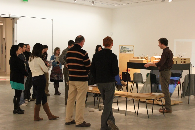 Art and Construction Studies Teachers attending CPD session in Donegal with architect Robert Bourke