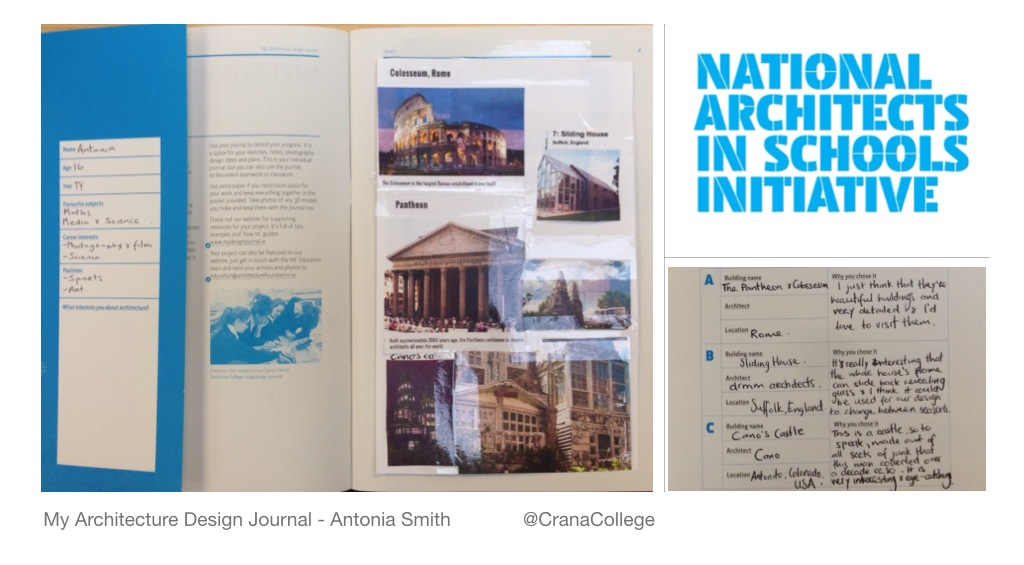 Crana College design journal